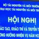 Hội nghị trường ĐHTN và MT Hà Nội ngày 08 tháng 4 năm 2021
